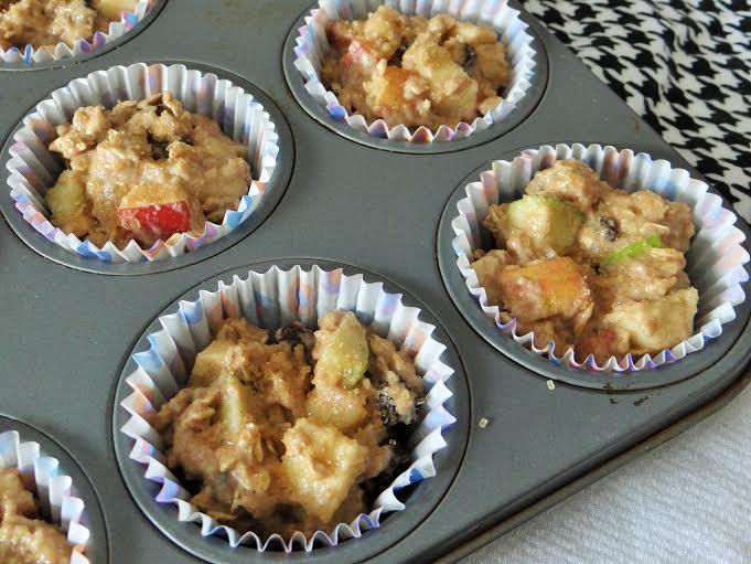apple cinnamon muffin prep 3