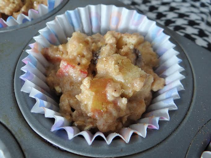 apple cinnamon muffin prep 4